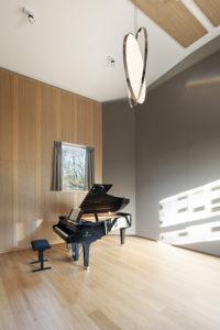 Paule Van Thillo rehearsal room,